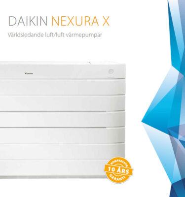 Daikin Nexura x